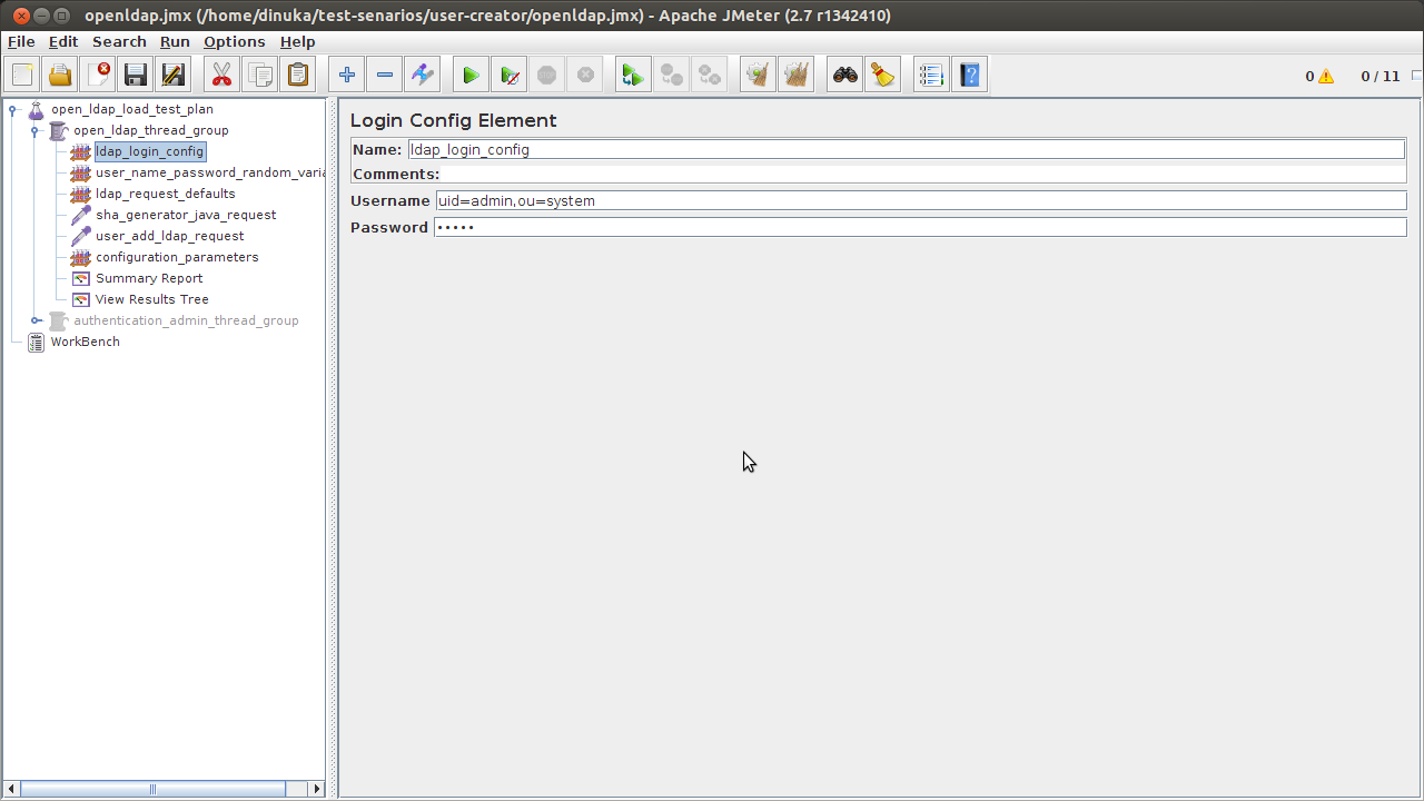 create users in ldap server | Complex to Simple