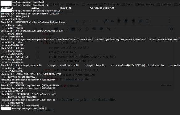 Run WSO2 Api Manager with Docker | Complex to Simple